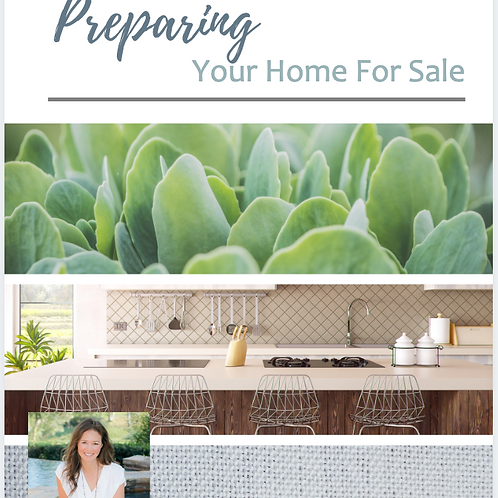 Preparing Your Home for Sale - ebooklet
