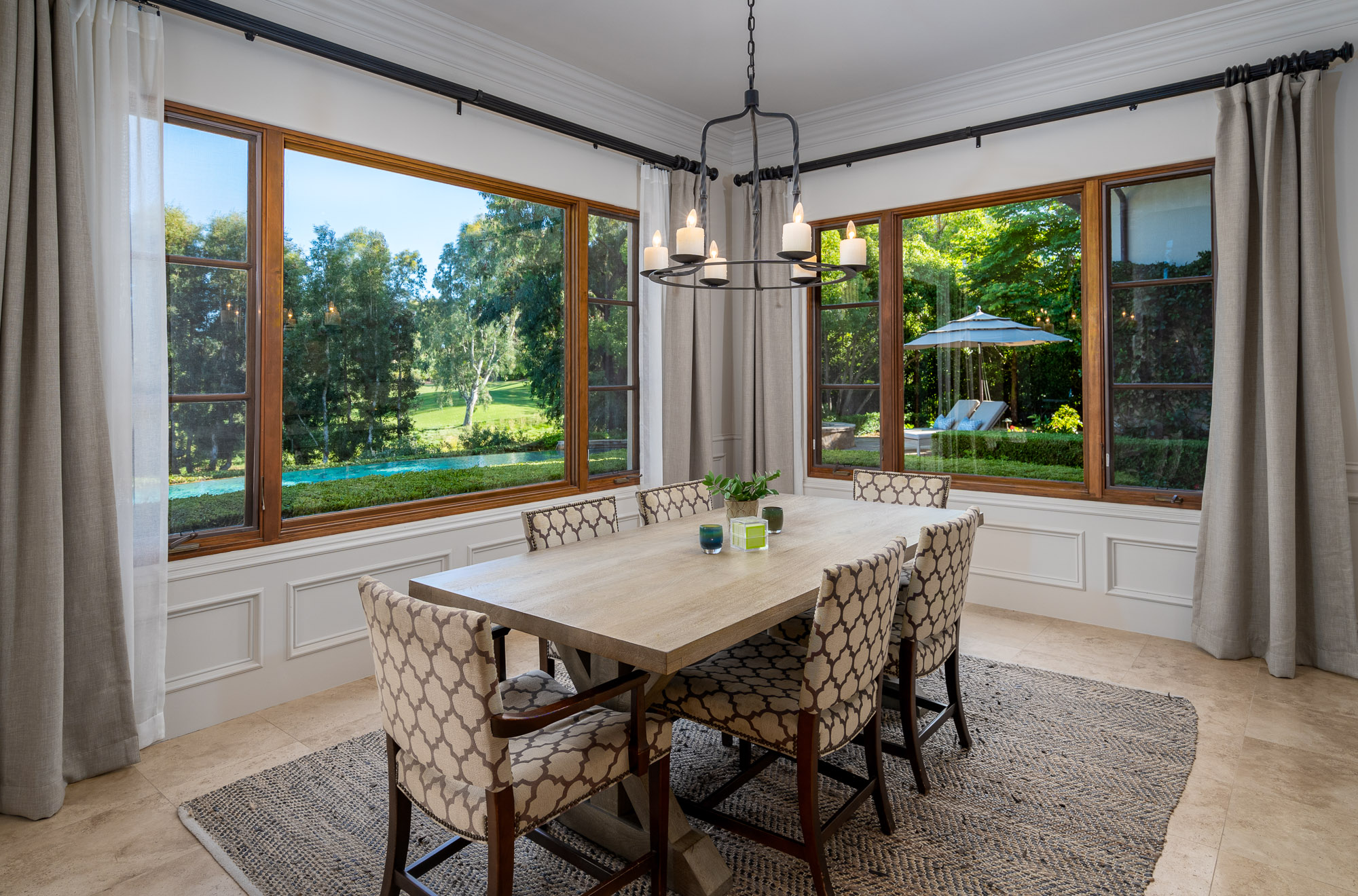 Sunny Breakfast Nook with Fairway Views