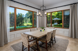 Sunny Breakfast Nook with Fairway Views