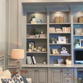 Styling Bookshelves - 5 Simple Steps