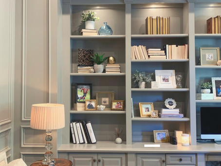 Styling Bookshelves - 5 Simple Steps