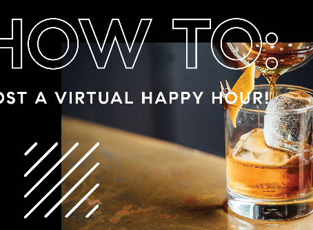How to Host a Virtual Happy Hour