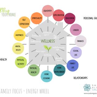 Fresh Family Focus - Energy Wheel
