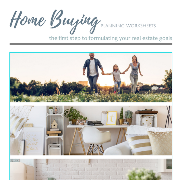 Home Buying - Planning Worksheets