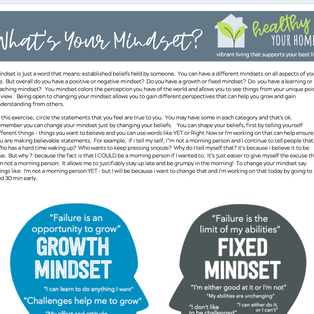 What's Your Mindset? Growth vs Fixed