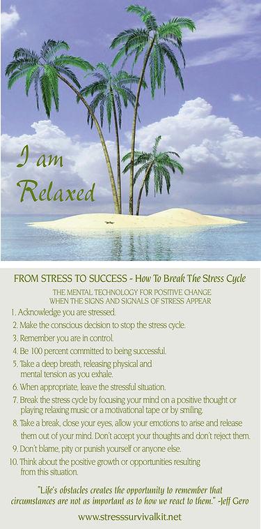 stress survival kit CD