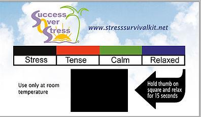 stress survival kit meter
