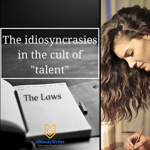 """The idiosyncrasies in the cult of """"talent"""""""