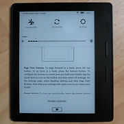 e-reader, Kindle Oasis, upgrade for writers, Amazon Kindle