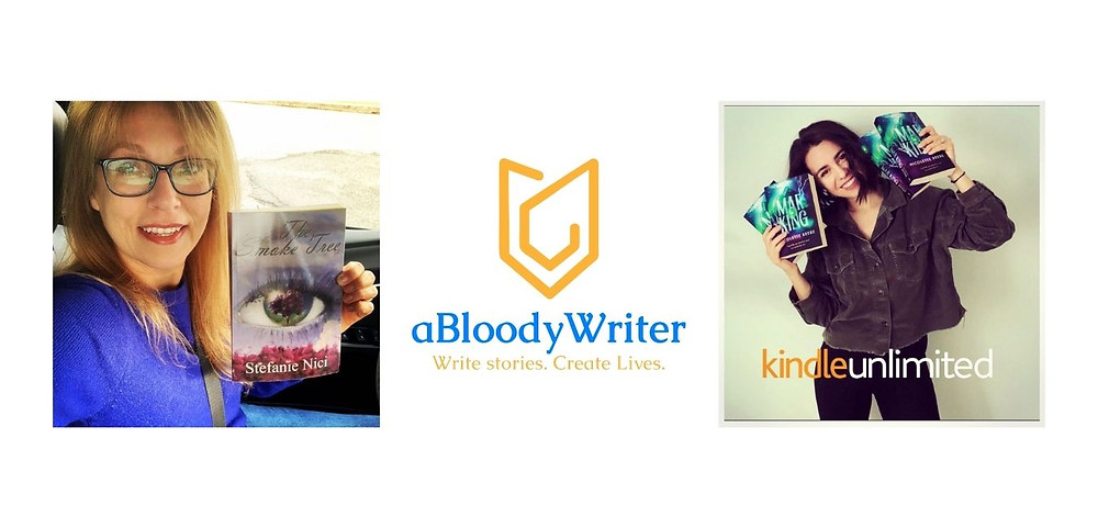 Two indie authors: Stefanie Nici and Nicolette Beebe