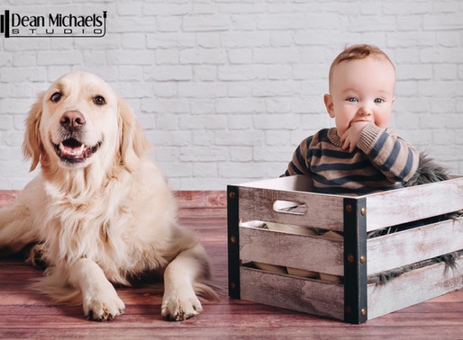 BABY AND BARK SESSION | REILLY & SULLY