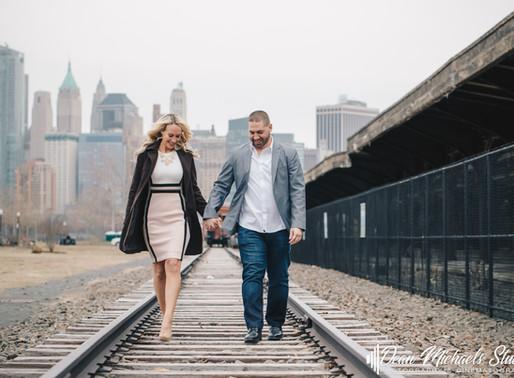 JERSEY CITY ENGAGEMENT | DEBRA & MICHAEL