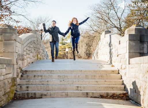 VERONA PARK ENGAGEMENT | JENNY & LONG