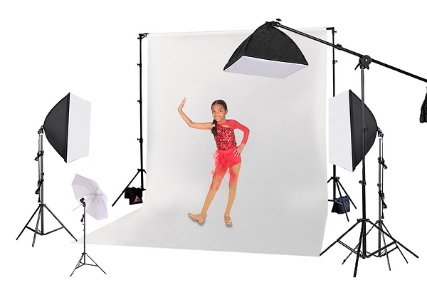 Dance Studio Photography Photo Day Setup