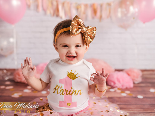 STUDIO CAKE SMASH | BABY KARINA