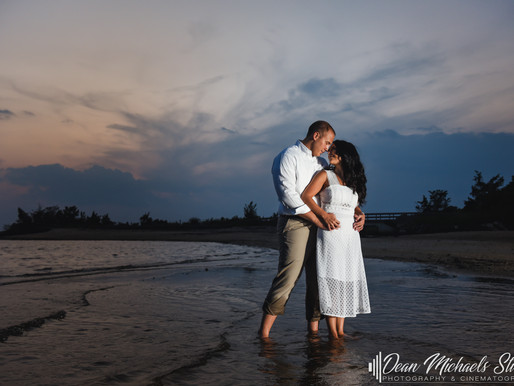 JERSEY SHORE ENGAGEMENT | ALLISON & LENNY