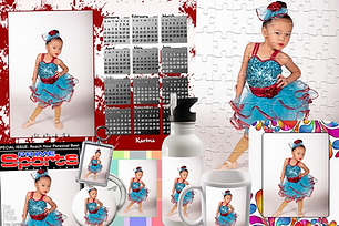 Dance Studio Photography Custom Products