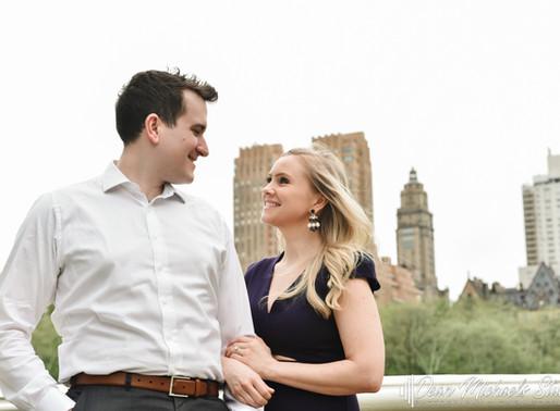 NYC ENGAGEMENT | JENNIFER & ANDREW