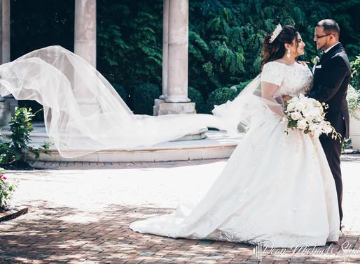 FLORENTINE GARDENS WEDDING   JACQUELINE & SAMUEL