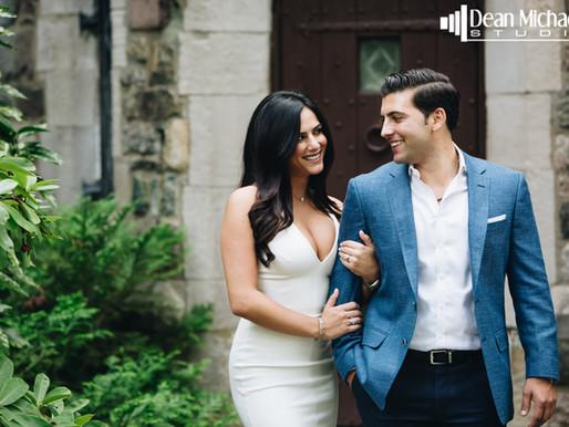 NJ BOTANICAL GARDEN ENGAGEMENT | ARIANA & JONATHAN