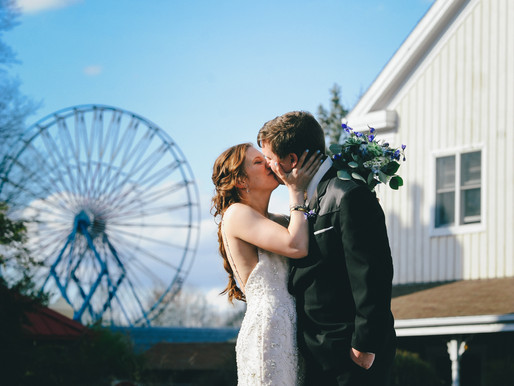 CASINO AT LAKEMONT PARK WEDDING | SARAH & PAUL