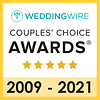 Wedding Wire Couples Choise Awards since 2009