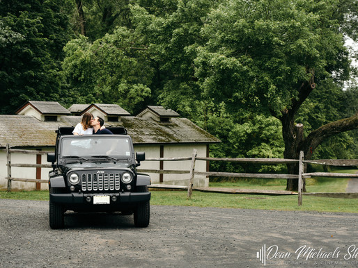 COLONIAL PARK ENGAGEMENT | JILLIAN & PETER