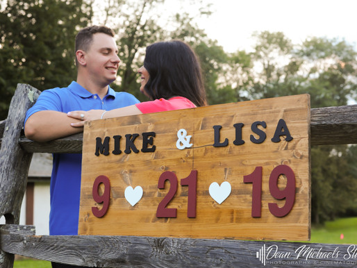 COLONIAL PARK ENGAGEMENT | LISA & MICHAEL