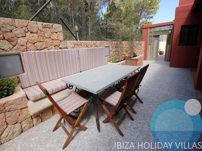 Villa Rouge - Cala Vadella - Ibiza