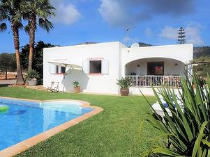 Holiday villa El Olivo Ibiza