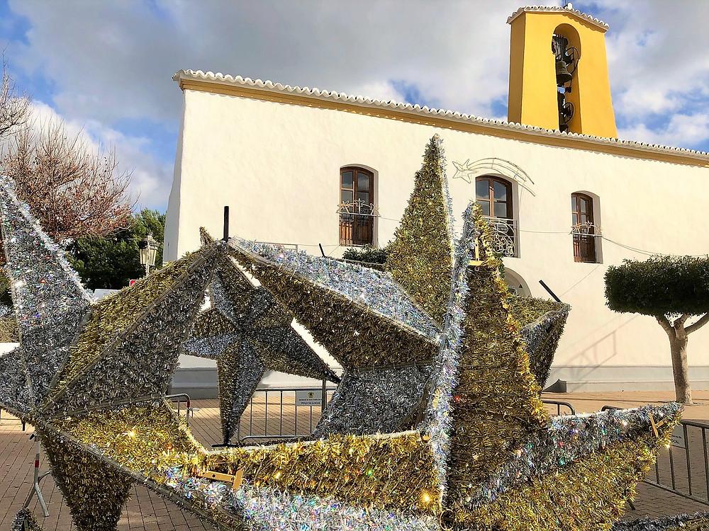 Kerst sfeer in Santa Gertrudis 2018