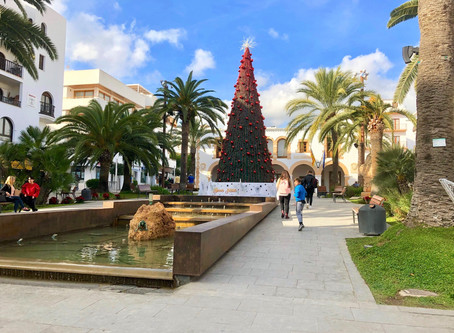 Christmas and New Year's celebrations in Ibiza