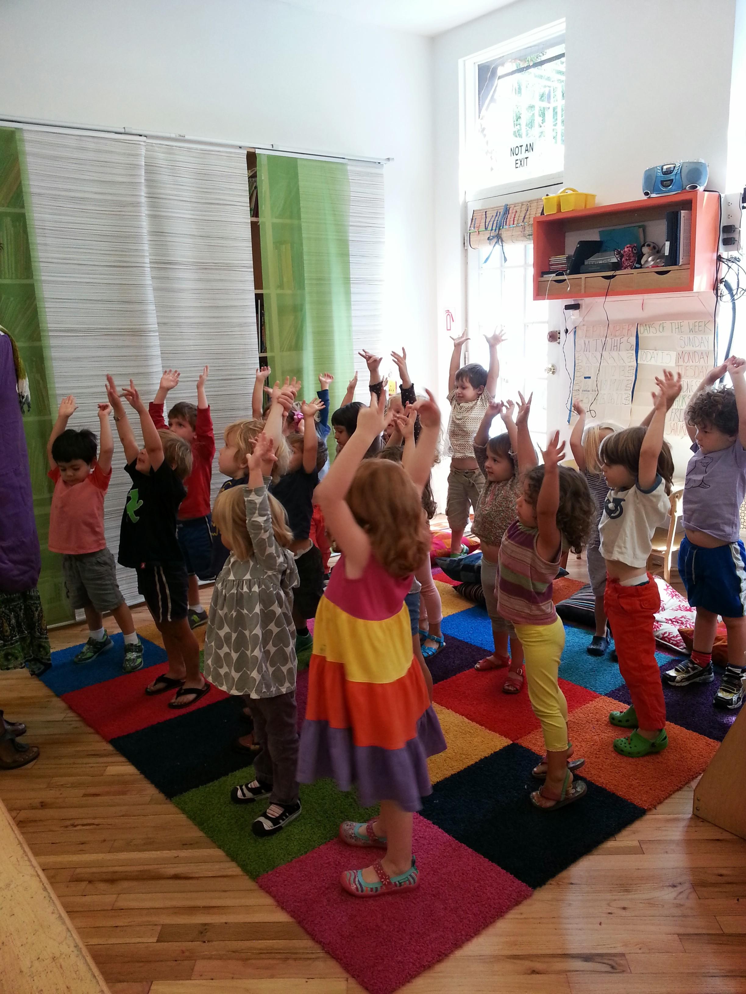Movement/Music Teachers