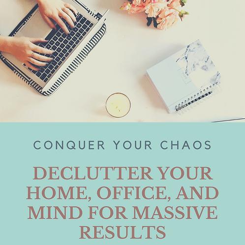 Conquer your Chaos Program