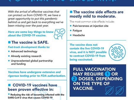 Don't Believe The Hype Get The Facts on COVID-19 Vaccine