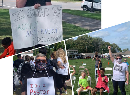 Update: Protesters Take On Spencerport
