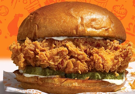 Popeyes Chicken Sandwich Made in Secret Lab?