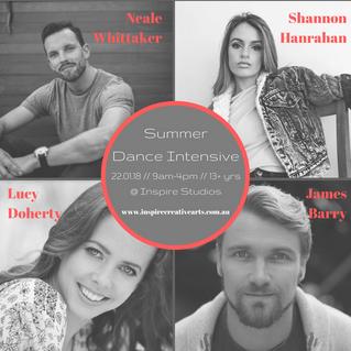 Summer Dance Intensive 2018: Registrations Open!