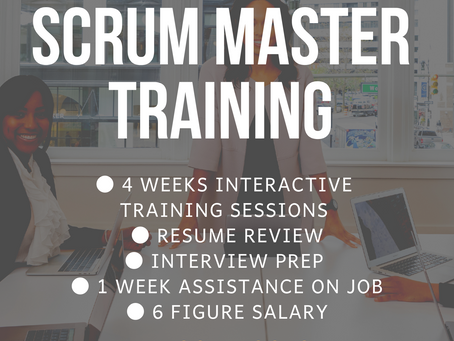 September 2019 Scrum Training Workshop