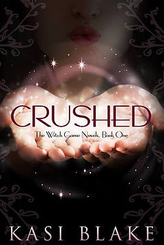 crushed a book by author kasi blake
