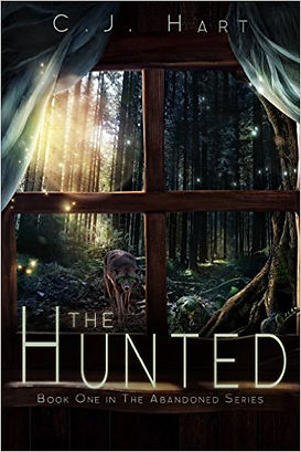 The Hunted book one in the abandoned series by author C.J. Hart