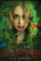 splintered a novel by author a.g. howard