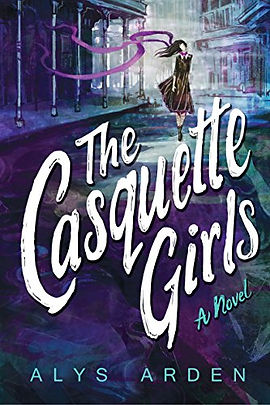 The casquette girls book cover by author alys arden