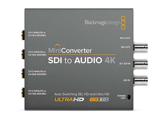 BlackMagic MiniConverter SDI to AUDIO 4K