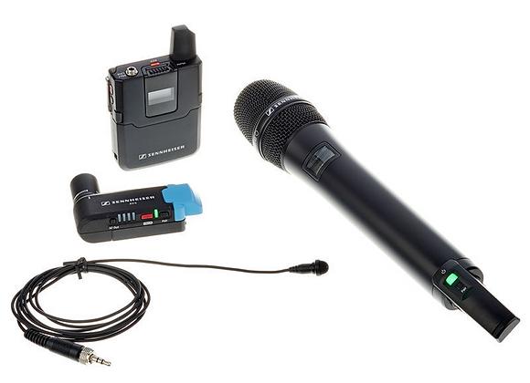 Micro HF - Sennheiser Combo AVX
