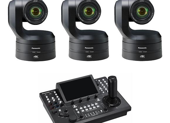 Kit caméras robotisées 4K