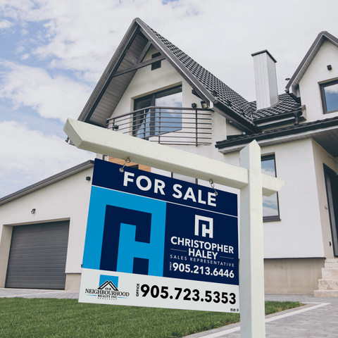 ChrisHaley-Free Real Estate Signboard Mo