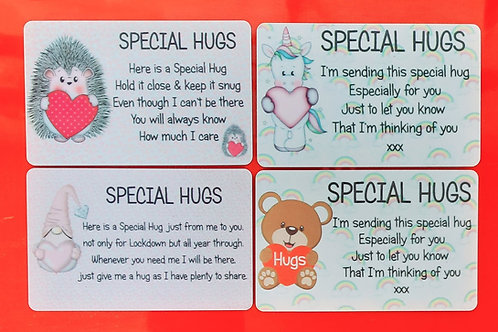 Hugs Wallet cards