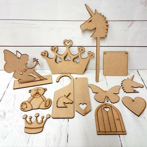 Wooden Craft Kit 1