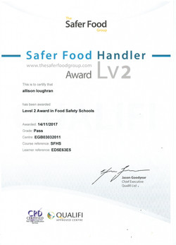 Safer Food Handler